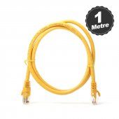 Dark 1m Cat6 Cu Awg24 7 Utp Sarı Network Kablosu (...