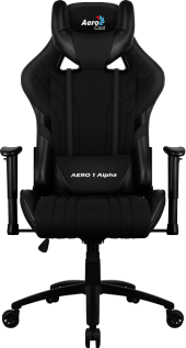 Aerocool Aero 1 Alpha Hava Delikli Siyah Profesyonel Oyuncu Koltuğu