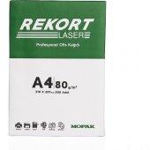 Mopak Rekort 80gr A4 Fotokopi Kağıdı (1 Koli 5...