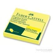 Faber Castell Yapışkan Notluk 75x75mm Sarı