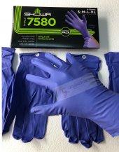 Showa 7580 Mavi 240mm Nitril Ediven 4 Adet Xl L M S