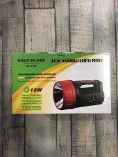 15 W 5000 Metre Süper Projektör Fener Işıldak Gold Silver Gs 2621