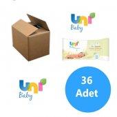 Uni Baby Yenidoğanlar İçin 36lı Paket Islak Mendil