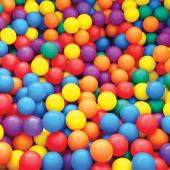 Mgs Sports Actıvıtıes 50li Oyun Havuzu Topu Fileli