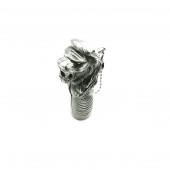 Aslan Figürlü Gümüş Renk Doldurulabilir 7 Cm Çakmak