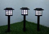 Sokak Lamba Tasarımlı Solar Bahçe Lambası (4 Adet)...