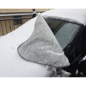 Çift Taraflı Miflonlu Kar Buz Güneş Önleyici Araç Ön Cam Brandası-2
