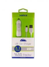 Mikro Usb Araç Şarj Cihazı Sunix S307