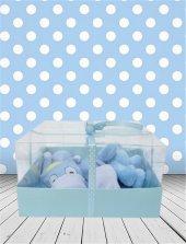 Yeni Doğan Hoş Geldin Bebek Hediyesi Yatay Şeffaf Kutulu (Erkek)