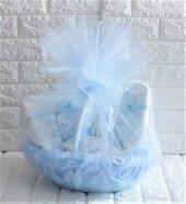 Yeni Doğan Hoş Geldin Bebek Hediyesi 10 Lu Set (Erkek)