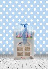 Yeni Doğan Hoş Geldin Bebek Hediyesi Evli Kutu (Erkek)