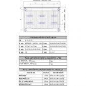 Eca Standart Panel Radyatörler Tip22 600X500