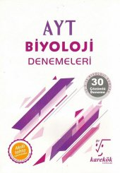 Karekök Yayınları Ayt Biyoloji 30 Lu Deneme Sınavı