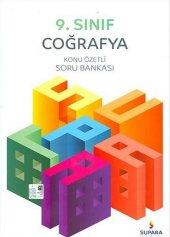 Supara Yayınları 9. Sınıf Coğrafya Konu Özetli Soru Bankası Yeni