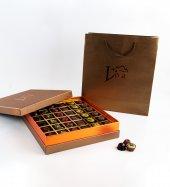 Liva Bronz Taba Dolgulu Çikolata Kutu Büyük-3