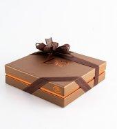 Liva Bronz Taba Dolgulu Çikolata Kutu Küçük-2