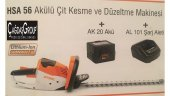 Stihl Hsa 56 Akülü Çit Kesme Makinesi Akü Ve Şarj Aleti Dahil