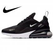Nike Air 270 Siyah Beyaz Kadın Çocuk