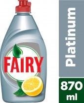 Fairy Platinum 870 Ml Sıvı Bulaşık Deterjanı Limon...