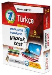çanta Yayınları 7.sınıf Türkçe 8 Öğrencilik Yaprak Test 2019
