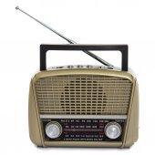 Mega Mg 290bt Radyo Nostalji Şarjlı Fenerli Fm...