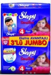 Sleepy 4 Numara 90 Adet Bebek Bezi