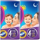 Canbebe 4 Numara Maxi 80 Adet Jumbo Avantaj Paket Bebek Bezi