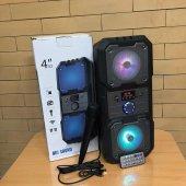 Kts1048 Ledli Bluetooth Speaker Usb Tf Fm