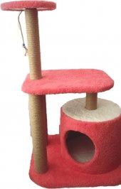 Kedi Silindir Ev 3 Tırmalamalı