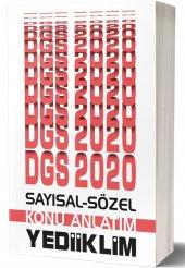Yediiklim Yayınları 2020 Dgs Sayısal Sözel Yetenek Konu Anlatımı