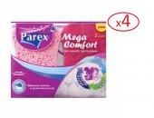 Parex Mega Comfort Oluklu / Düz Bulaşık Süngeri 2x4= 8 Adet