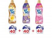 Vernel Max Konsantre Çamaşır Yumuşatıcısı 40 Yıkama X3