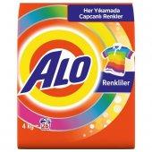 ALO Matik Toz Çamaşır Deterjanı Renkli Beyaz 4 kg 26 Yıkama x2-3
