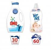 Omo Baby Bebek Sıvı Çamaşır Deterjanı Vernel...
