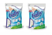 Dex Baby Sabun Tozu Bebek Çamaşırları İçin Matik Ve Elde 800gr X2
