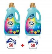 ABC Sıvı Renkliler Çamaşır Deterjanı Renkli 50 Yıkama 3 Litre x2