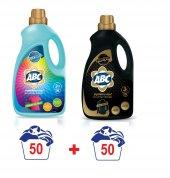 Abc Sıvı Renkliler Siyahlar Çamaşır Deterjanı 50 Yıkama 3litre X2