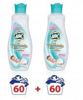 Abc Sensitive Bebek Konsantre Çamaşır Yumuşatıcı 60 Yıkama X2