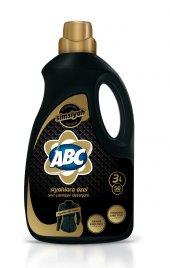 Abc Sıvı Siyahlar Çamaşır Deterjanı Siyah 50 Yıkama 3 Litre