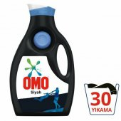 Omo Sıvı Siyah Konsantre Çamaşır Deterjanı 30 Yıkama 1950 Ml
