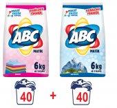 Abc Matik Toz Çamaşır Deterjanı Renkliler...