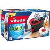 Vileda Turbo Pedallı Temizlik Seti Döner Paspas Dönen Sıkma