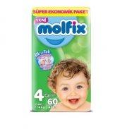 Molfix Bebek Bezi 4 Numara Beden Maxi Plus...