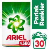 Ariel Matik Çamaşır Deterjanı Parlak Renkler 4,5 Kg (30 Yıkama)