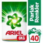 Ariel Matik Çamaşır Deterjanı Parlak Renkler 6 Kg (40 Yıkama)