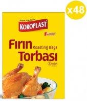 Koroplast Fırın Torbası 8li X 48 Paket (25*38)