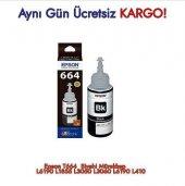Epson T664 Siyah Mürekkep Orjinal L6190 L1855 L3050 L3060 L6190 L