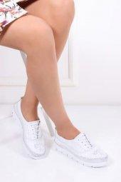 Tarçın Hakiki Deri Günlük Kadın Ayakkabı Trc68 0708