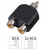 Dark Rca (Analog) 2 X Rca (Analog) Dönüştürücü (Dk...