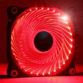 Dark 120mm Ultra Bright 33x Kırmızı Led' Li Kasa Fanı (Dkccfb122r)